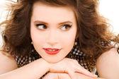 Lovely teenage girl — Stock Photo