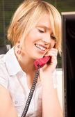 Office girl — Stock Photo