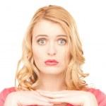 Unhappy woman — Stock Photo #5934257