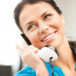 Woman with phone — Stock Photo #6275905