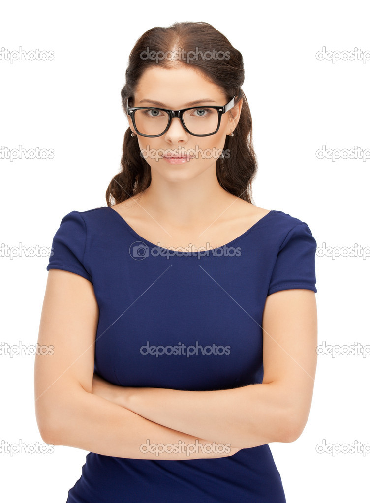 Bright picture of calm and friendly woman — Stock Photo #6662480