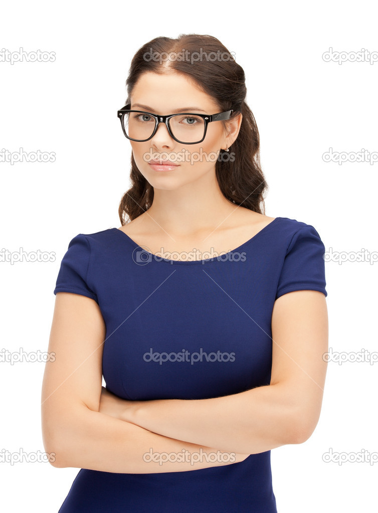 Bright picture of calm and friendly woman — Stock Photo #6680436
