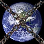 Planeta jest zamknięta — Zdjęcie stockowe