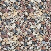 Сoloured gravel. High-resolution seamless texture — Stock Photo