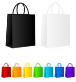 Shopping bags — Vettoriale Stock