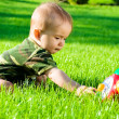 Baby playing — Stock Photo #5759027
