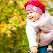 Autumn baby — Stock Photo #5759097