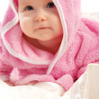 Baby in pink — Stock Photo #5759261