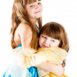 Royalty-Free Stock Photo: Sisters hugging