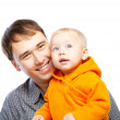 Father and baby — Stock Photo