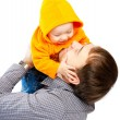 Dad and baby — Stock Photo #5759598