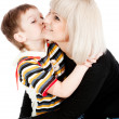 Tenderness and happiness — Stock Photo #5759963