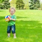 Little sportsman — Stock Photo #5760138
