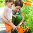 Doing gardening — Stock Photo