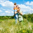 Happy family — Stock Photo #5760214