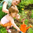 Little gardener — Foto Stock