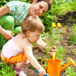 Spring gardening — Stock Photo #5760234