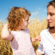 Mother and daughter talking — Stock Photo #5760632