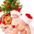 Christmas babies — Stock Photo #5760919