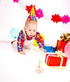 Bebek doğum günü — Stok fotoğraf