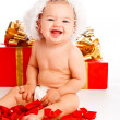 Lovely Santa baby — Foto de Stock