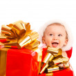 Christmas baby — Stock Photo
