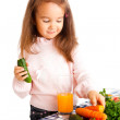 Eating vegetables — Stock Photo #5770278