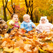 Autumn babies — Stock Photo #5770537