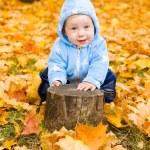 Baby boy playing — Stock Photo