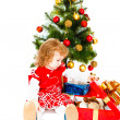 Christmas toddler — Stock Photo #5770731