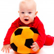 Royalty-Free Stock Photo: Soccer baby