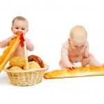 Bread babies — Stock Photo