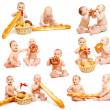 Bread babies collection — Stock Photo #5771356