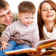 Reading book — Stock Photo #5774019