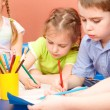 Kids drawing — Stock Photo #5774586