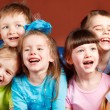 Kids laughing — Stock Photo