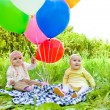 Baloon babies — Stock Photo