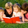 Family reading — Stock Photo #5774912