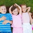 Kids on grass — Stock Photo #5775039