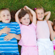 Kids on grass — Stock Photo #5775039