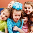 Laughing preschoolers — Stock Photo