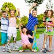 Sportive kids — Stock Photo