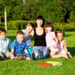 Preschoolers group — Stock Photo