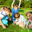 Preschool  group — Stock Photo