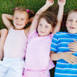 Kids on grass — Stock Photo #5775116