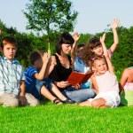 Kids group — Stock Photo