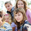 Teens crowd — Stock Photo #5775202