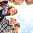 Teens group — Stock Photo #5775254
