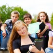 High school students — Stock Photo