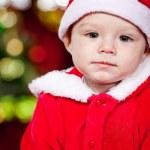 Baby Santa — Stock Photo #5775358